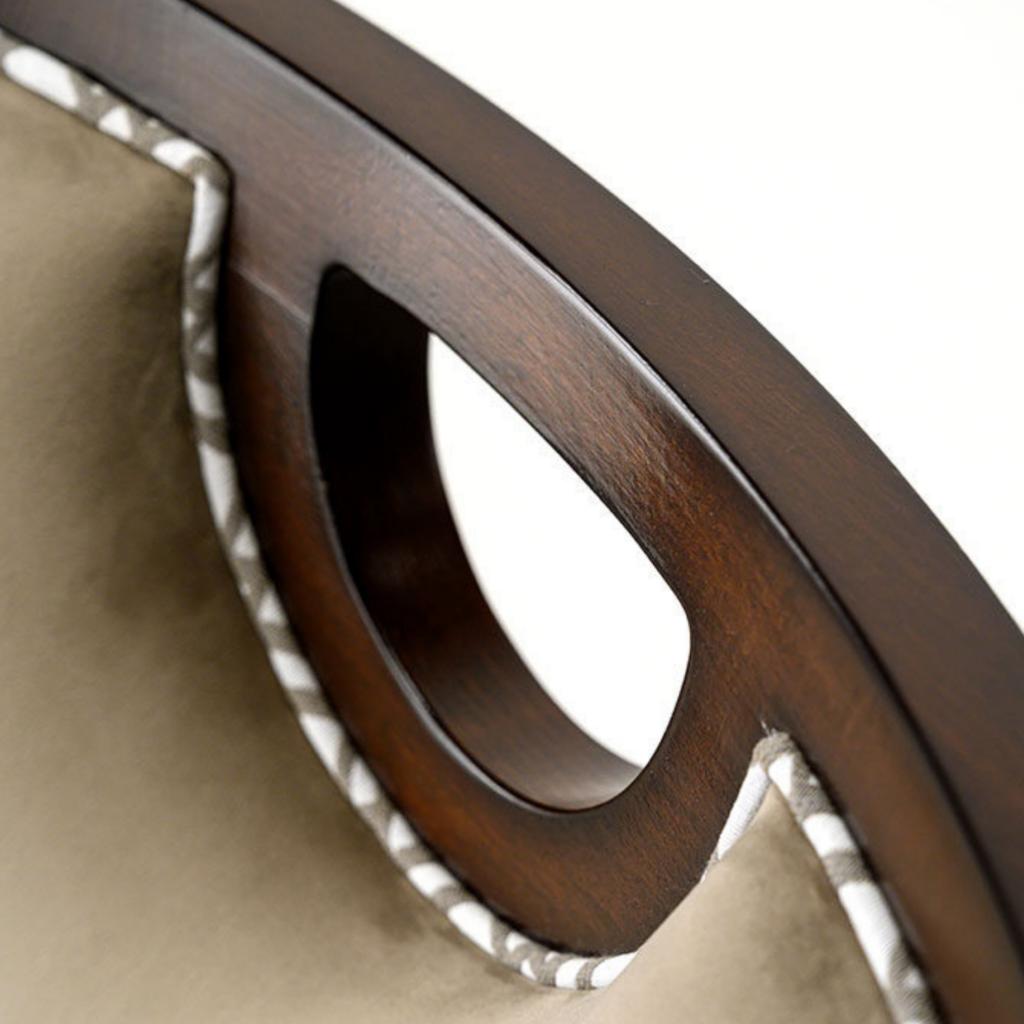 Włoskie krzesło karab z uchwytem
