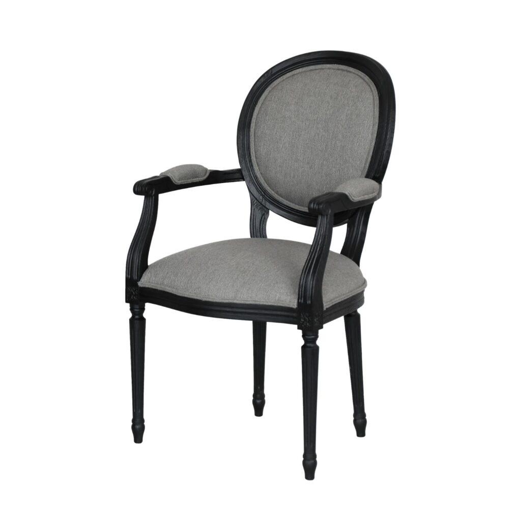 Krzesło z Podłokietnikami Ludwik XVI 1