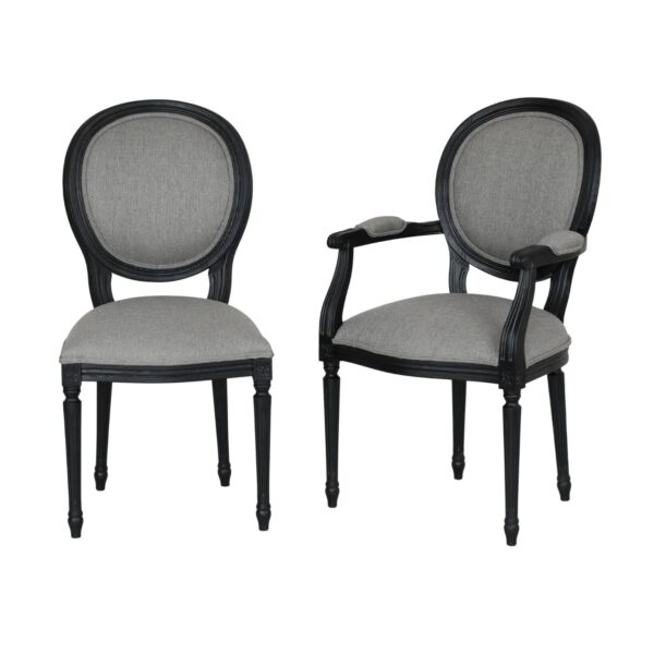 Krzesła Ludwik XVI - Krzesła Stylowe Medalionowe 1102/K i 1102/F