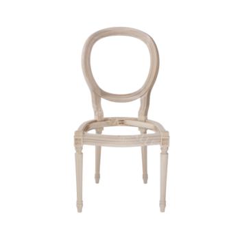 1102/K stelaż drewniany krzesła ludwik xvi