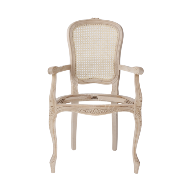 Stelaż drewniany krzesła Parigina 1105/FR z rafią rattanową