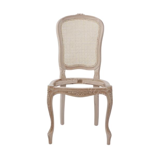 Stelaż drewniany krzesła Parigina 1105/KR z rafią rattanową