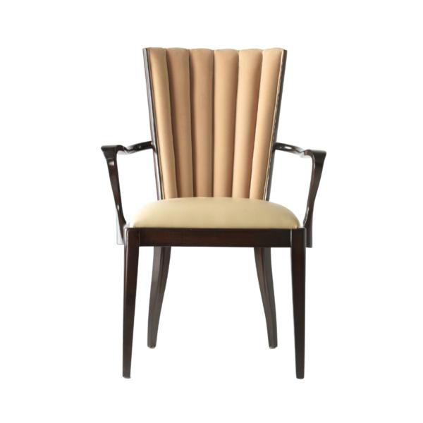 Krzesło Eternity z podłokietnikami jak Krzesło Muszelka