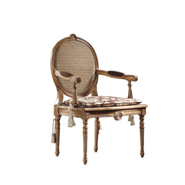 fotel z ratanem - fotel petra
