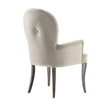 Krzesło Capri z podłokietnikami